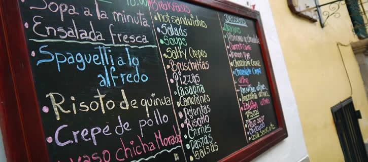 restaurants in Cusco