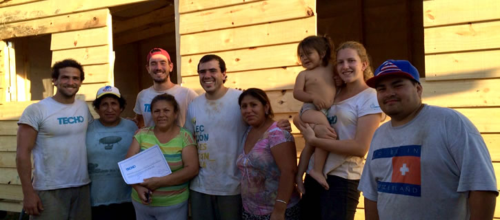 """A few days of Volunteering in Buenos Aires with """"TECHO"""""""