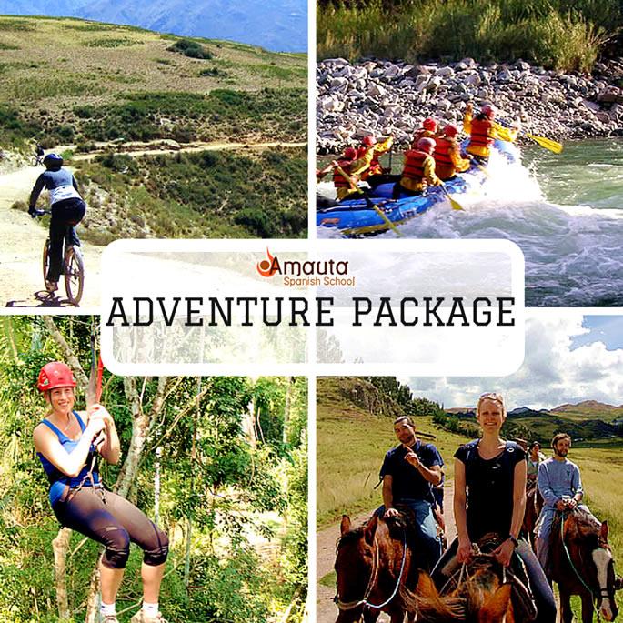 Spanish & Aventure Pack: Study Spanish & see Peru´s Wild Side