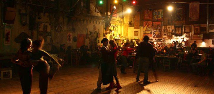 Tango Dancing in La Catedral Buenos Aires