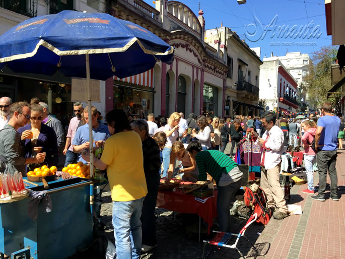 Visit San Telmo for your multicultural Sunday in Buenos Aires!