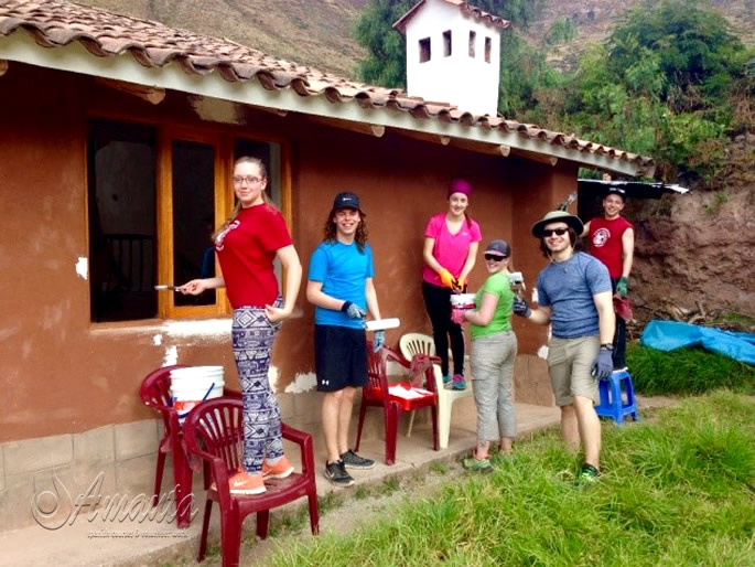 Volunteering in the Sacred Valley of the Incas