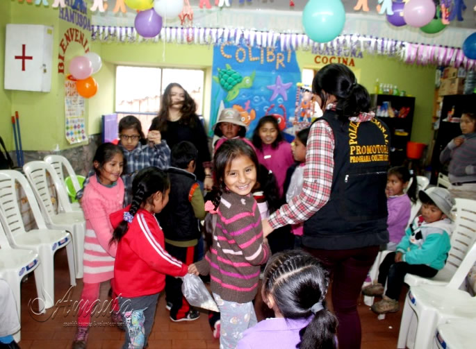 Back to School Party at Volunteer Project Cusco