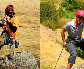Spanish course in Peru & rock climbing