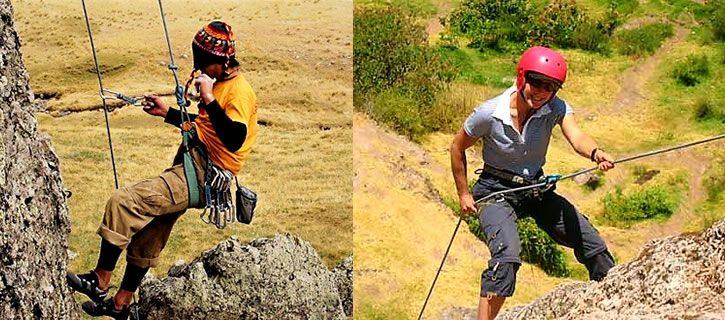 Spanish course in Peru & rock climbing