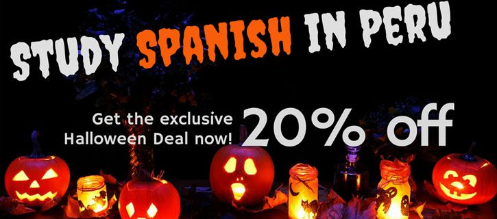 Special Offer for Halloween on Spanish in Peru