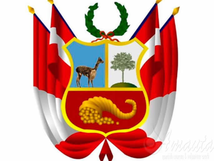 coat of arms peru