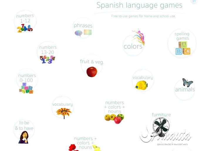 Spanish Games with Digital Dialects