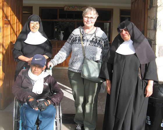 Amauta Volunteer in the Gerontological Center in Cusco