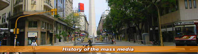 History of the mass media