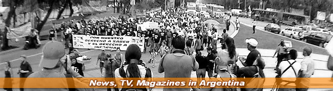 News, TV, Magazines in Argentina