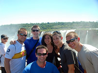 Our Students in Iguazu Falls