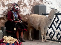 Andean people of Cusco, Peru