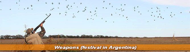 Weapons festival in Argentina