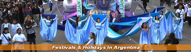 Festivals and Holidays In Argentina