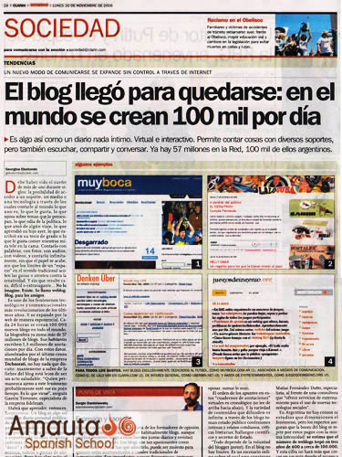 Spanish newspaper articles in argentina – College Students Essay