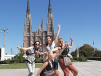 Our students in La plata – Argentina