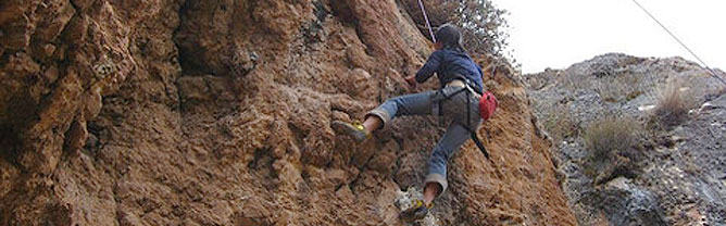 Rock Climbing in Sacred Valley of Incas
