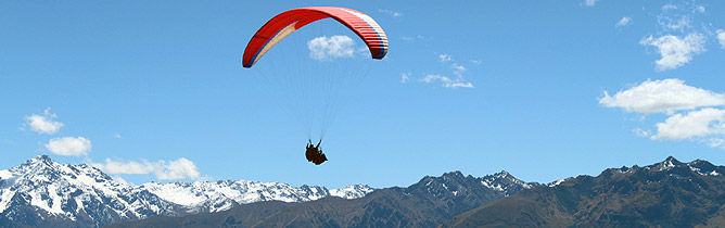 Spanish and Paragliding