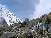 Spanish and Salkantay Trek