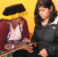 Spanish & Peruvian Weaving