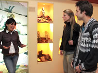Our students in Coca Museum