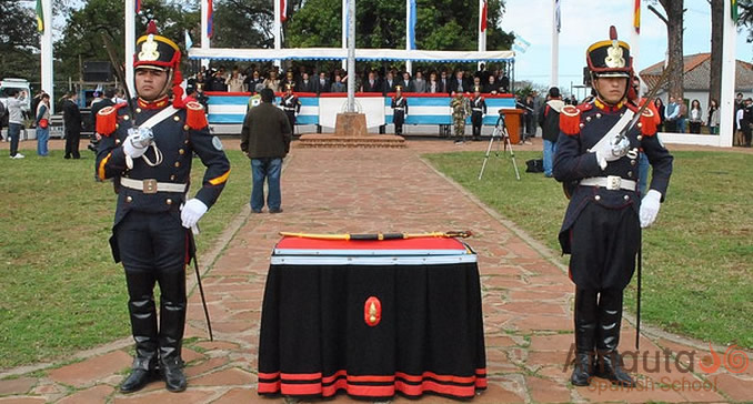 Ceremony in Buenos Aires commemorating General San Martín