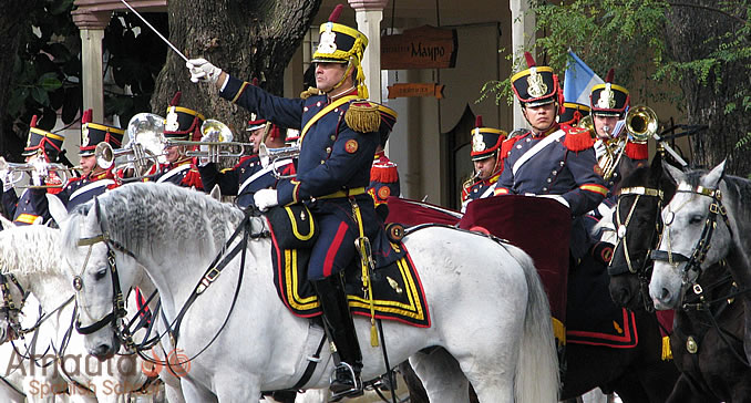 Anniversary of General San Martin in Argentina