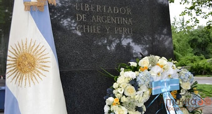 The anniversary of the death of Argentina's hero