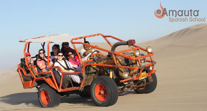 Buggy Tour In Huacachina In Peru