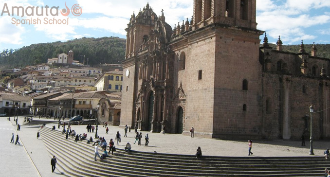 Cathedral of Cusco, important landmark