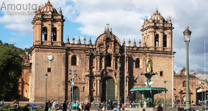 Cathedral of Cusco in Plaza de Armas picture | Amauta