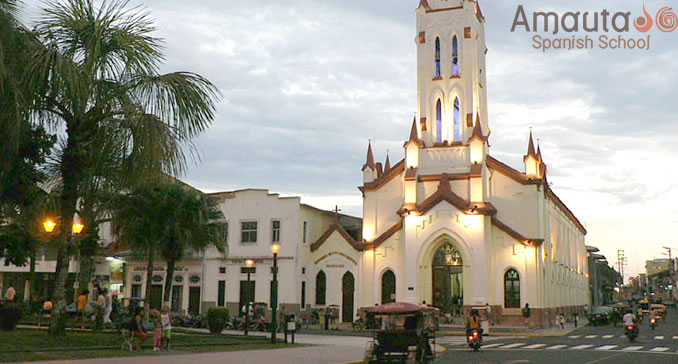 Cathedral of Iquitos at Parade Square