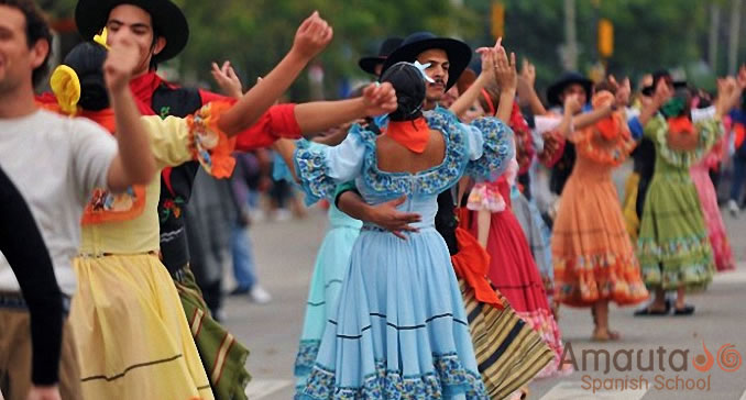 The Chacarera is a traditional Argentinian dance