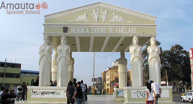 Chiclayo, located in the north of Peru