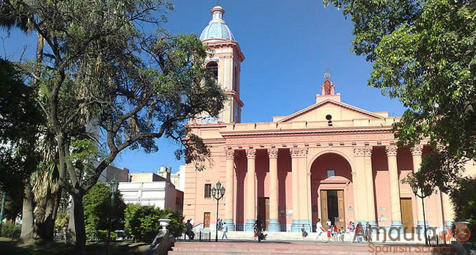 The city of Catamarca in Argentina