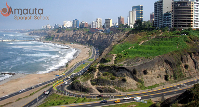 District Miraflores in Lima