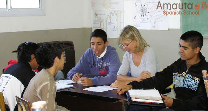 An educational volunteer project in Buenos Aires