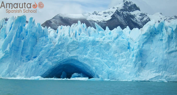 Los Glaciares National Park, declared a World Heritage Site by UNESCO