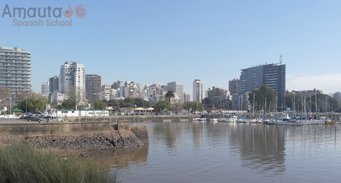 Harbour of Olivos on the shore of Río de la Plata