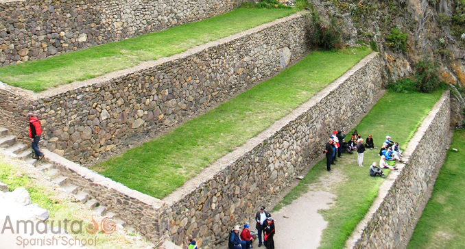 Ollantaytambo, an important Inca site near Cusco