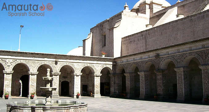 Overview of the Cloisters of Arequipa