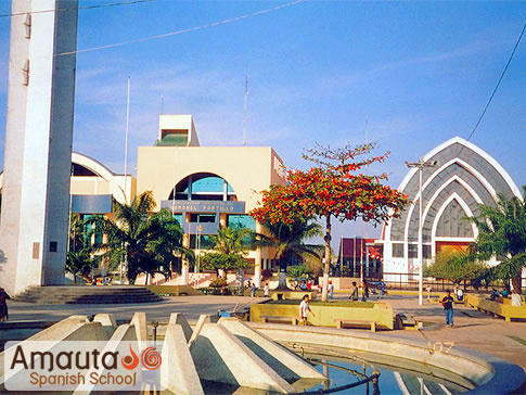 City of Pucallpa on the banks of the Ucayali River | Amauta