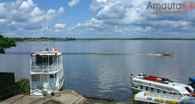 Port Area of Iquitos
