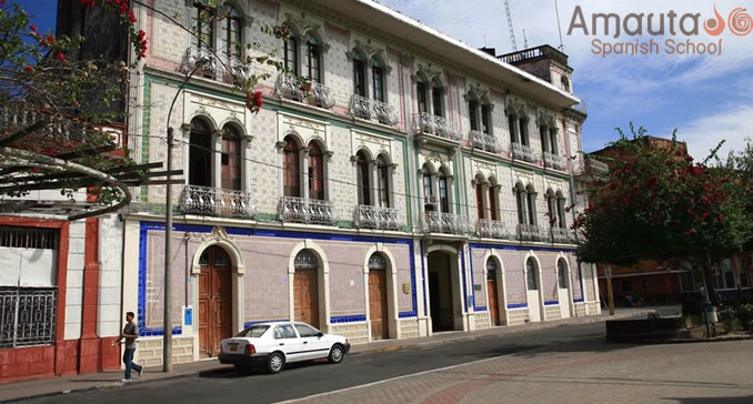 Republican constructions in Iquitos, Peru
