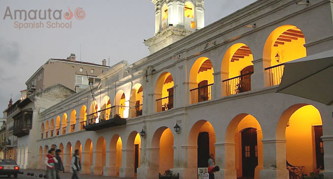 The colonial Cabildo in Salta, Argentina