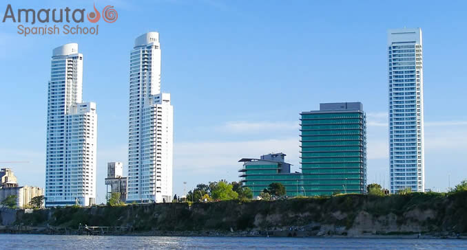 Skyline of Rosario