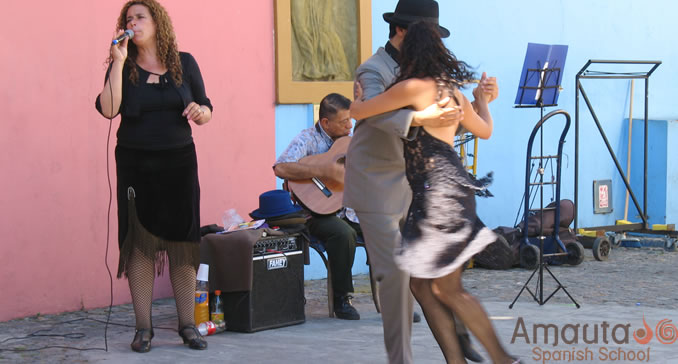 Tango today has influences from all kinds of world music.