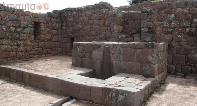 The Archaeological Park of Tipon near Cusco