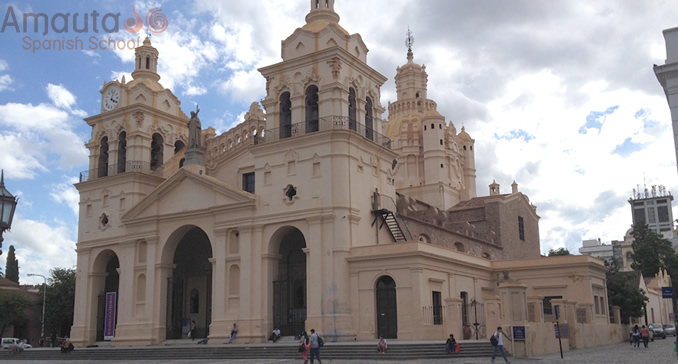 The Cathedral of Cordoba in the city center